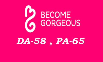 """Write And Publish DOFOLLOW Guest Post on """"Becomegorgeous"""" DA-58"""