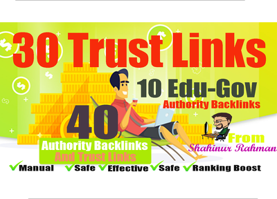 40 Trust and Authority Safe SEO High Quality Profile Links
