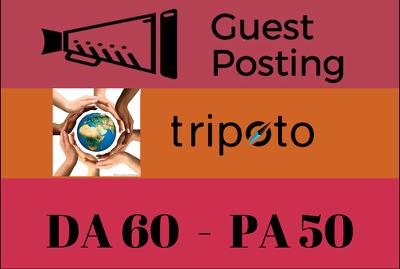 Publish Travel Guest Post on Tripoto, Tripoto.com - DA 60