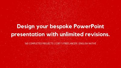 Bespoke PowerPoint Presentation