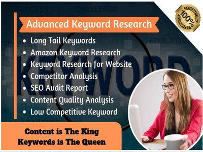 Do advanced keyword research and competitor analysis