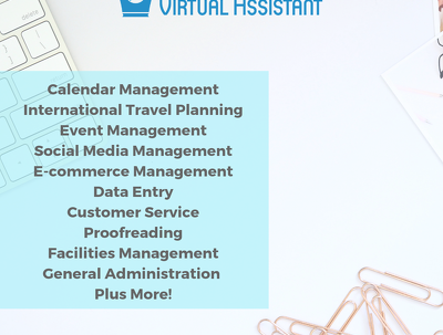 Be your Virtual Assistant for two hours
