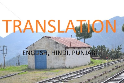 Translation English to Hindi or Punjabi (max 700 words)