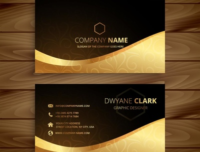 Design Professional double side Business Card + Source Files