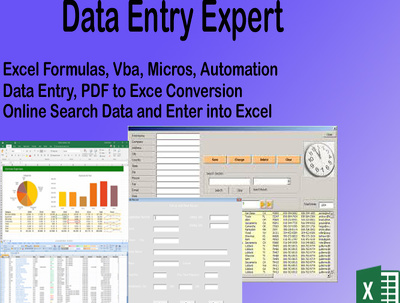 Do 2 hours data entry work for you
