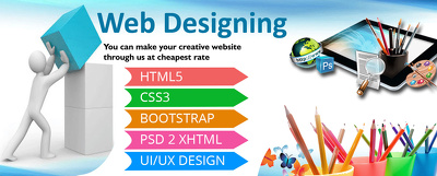 Design 5 Pages HTML website