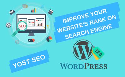 Do on page wordpress SEO optimization by yoast