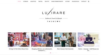Write and publish a Guest Post on Luxirare.com - DA52 website