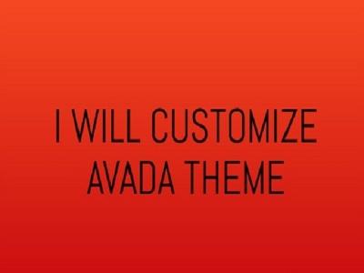 Install and Customize Avada WordPress theme
