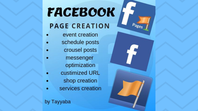 Create and manage your Facebook page