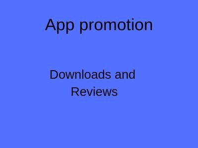 Promote app on top social media