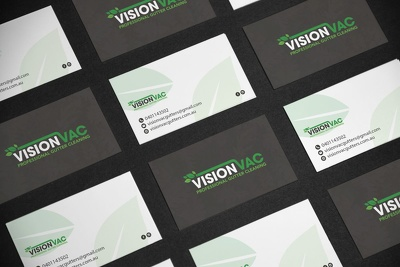 Design your business cards (no template)
