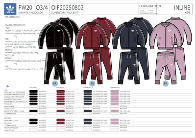 Create professional garment tech packs