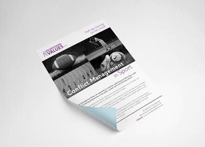 Design your flyer, leaflet or a poster