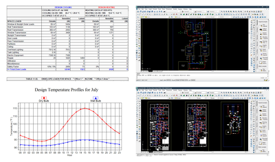 Do Hvac Cooling Load Calculation And Hvac Design Drawings