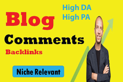 Do 15 Niche Relevant Blog Comments On actual Dofollow pages
