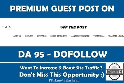 Top Sports News GuestPost Site DA59 offthepost.info - Offthepost