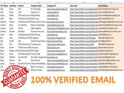 Collect 100 verified targeted email address for your business