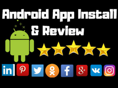 Provide 10 Install And Review on Your Android App