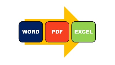 Convert 30 pages PDF  to word or image to text