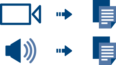 Transcript your 40 minutes audio or video file professionally.