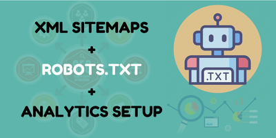 Create XML Sitemap Or Robots Txt For Website Seo Webmasters
