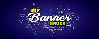 Design advertising web banner in 12 hour