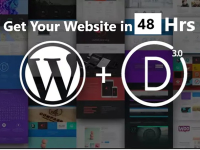 Develop Super Wordpress Business Website In 48 Hrs Using Divi