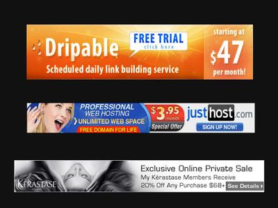 Design visually stunning website banners
