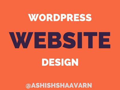 Design responsive wordpress website design in 48 hours