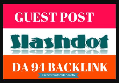 Write and Publish Guest Post on Salashdot.org DA-94 Dofollow