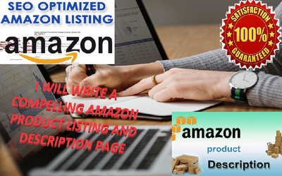 Write Superb Amazon Product Listing And Description Page