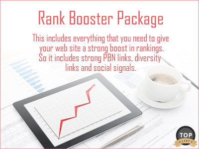 Rank Booster Package