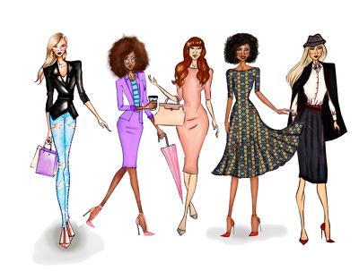 Draw a Fashion Illustration