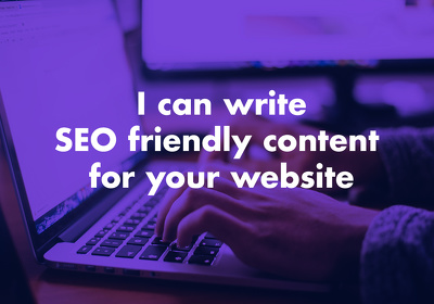 Write 2,500 word SEO friendly website content for your website