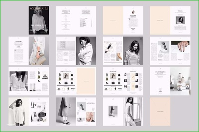 Do design of 10 pages any layout design