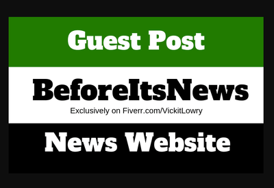 Publish a guest post on BeforeItsNews.com DA82 Dofollow Backlink