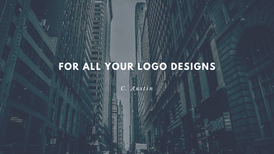 Design a business card or logo for you that is eyecatching