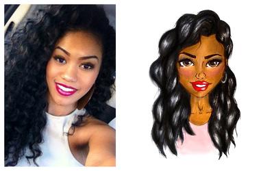 Transform you picture into a Fashion Illustration