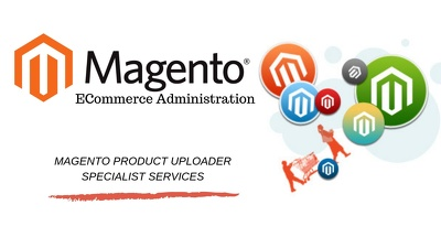 Manage your products on Magento eCommerce platform