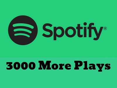 Grow your Spotify Music Plays professionally