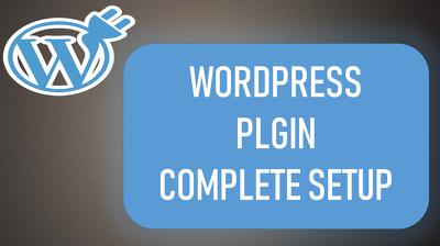 Create Wordpress Plugin For You