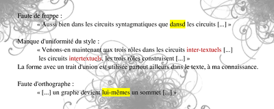 Proofread any text in French or English