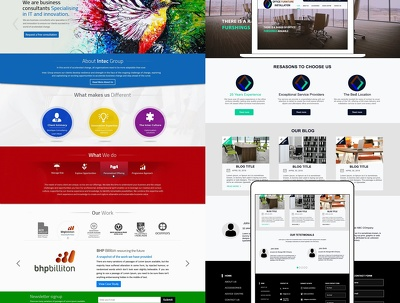 design Responsive Website/ Landing Page