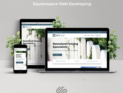 Build custom Squarespace site from scratch