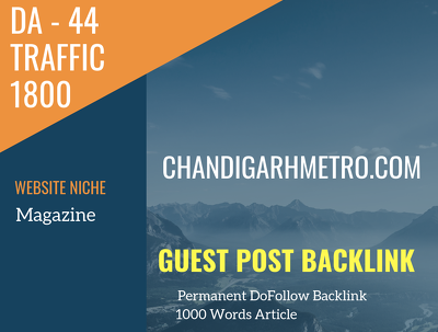 IN Magazine Related 1800 Traffic 44 DA Guest post link