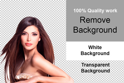 Remove background of 10 photos in just 24 hours
