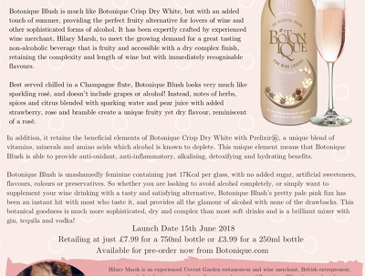 create a stunning press release for your food/drink product