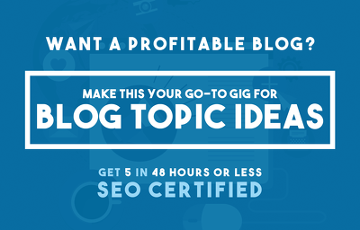 Suggest Blog Topic Ideas With SEO