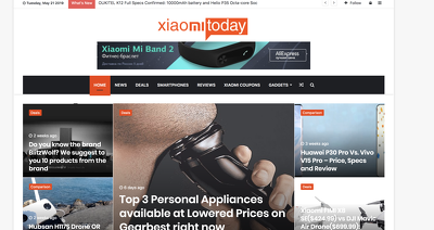 Publish Guest post on Xiaomitoday.com tech website - DA 62